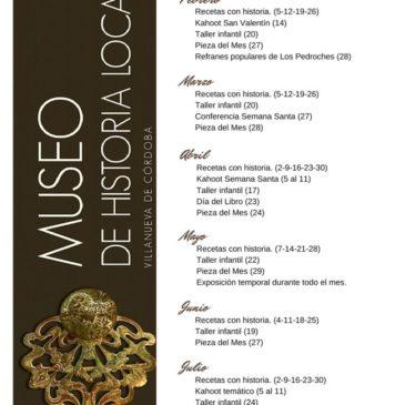 Museo: Programa de actividades