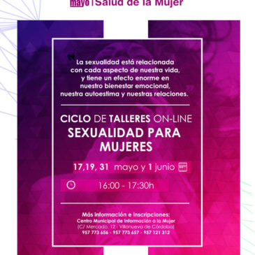 Taller On-Line: Sexualidad para Mujeres
